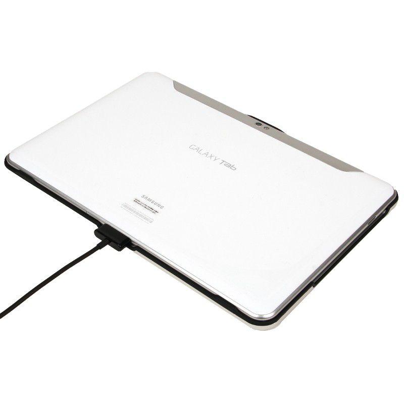 coque alu et clavier bluetooth pour la tablette galaxy tab. Black Bedroom Furniture Sets. Home Design Ideas