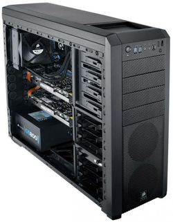 Corsair Carbide Series 500R noir avant