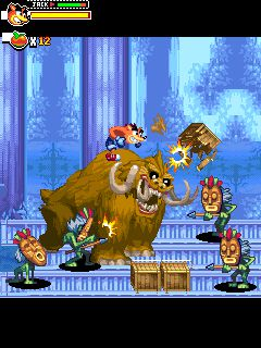 Crash of the titans screenshot 2