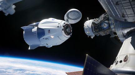 Crew-Dragon-ISS