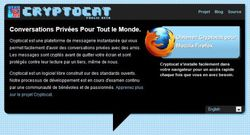 Cryptocat pour Firefox screen1