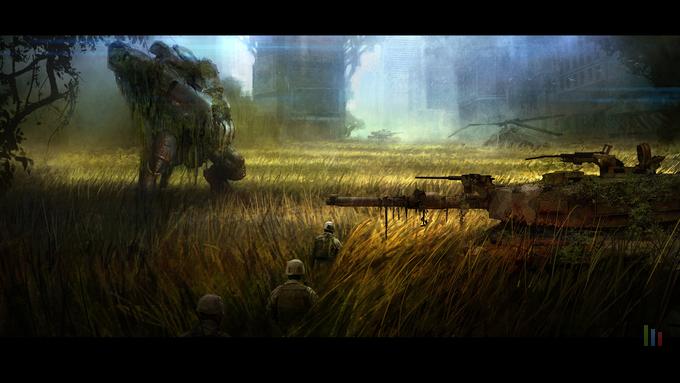 Crysis 3 - Grass Fields concept art