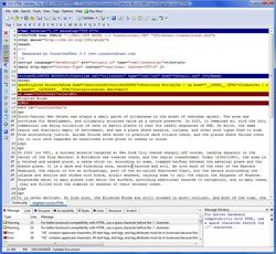 CSE HTML Validator Lite screen2