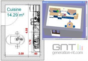 Cuisine et salle de bains 3d deluxe 300x208 for 3d cuisine deluxe