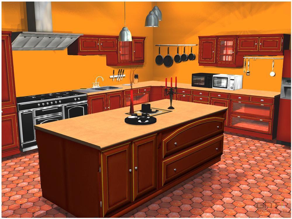 Cuisine et salle de bains 3d screen3 for Element de salle de bain