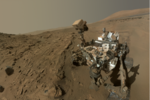 Curiosity photo anniversaire martien