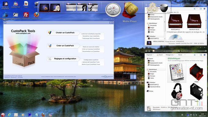 Custopack Tools screen 1