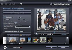CyberLink PowerProducer screen 2