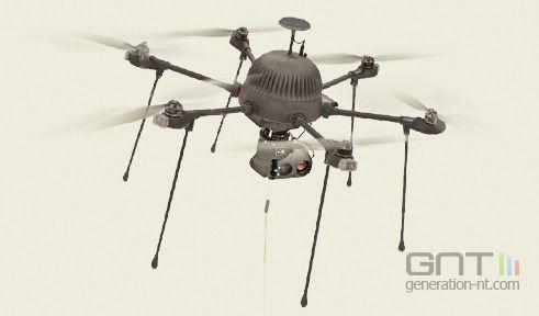Commander drone camera under 2000 et avis drone espion