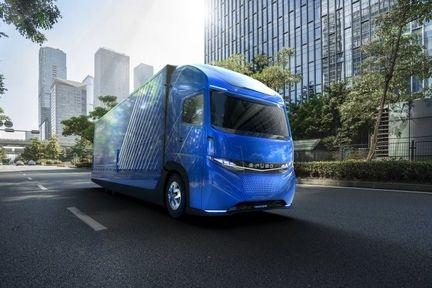 Daimler efuso vision one