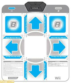 Dance dance revolution hottest party tapis