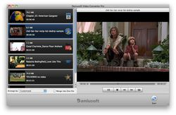 Daniusoft Video Converter Screen