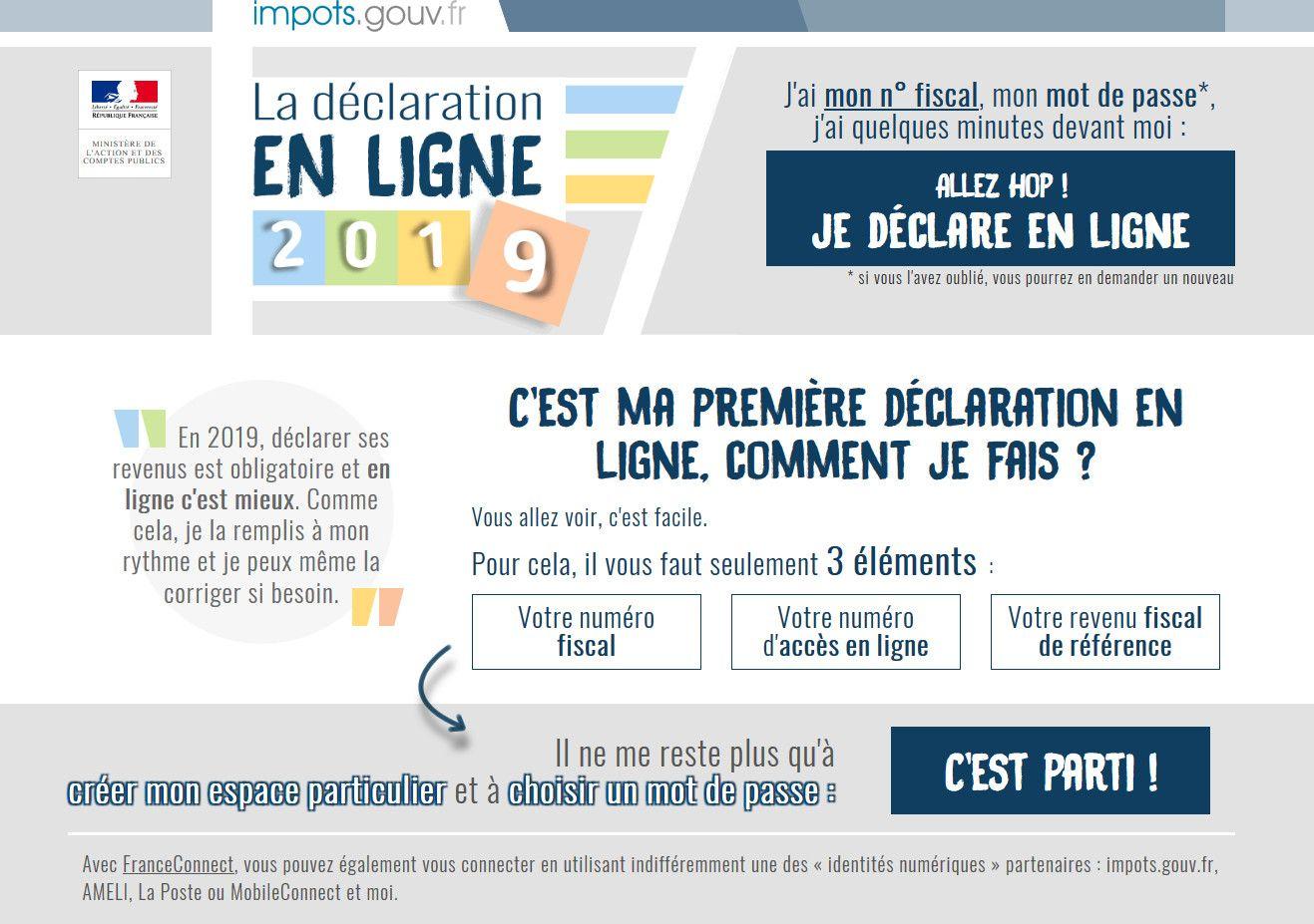 Impot Sur Les Revenus La Declaration En Ligne Est Ouverte