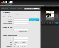 Deezer_Inscription