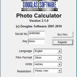 Depth Of Field Calculator screen 1