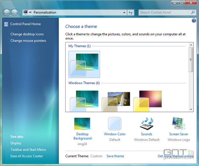 desktop-personlize
