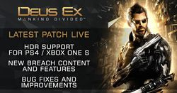 Deus Ex Mankind Divided - patch 1.05