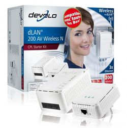 Devolo dLAN 200 AV Wireless N boîte