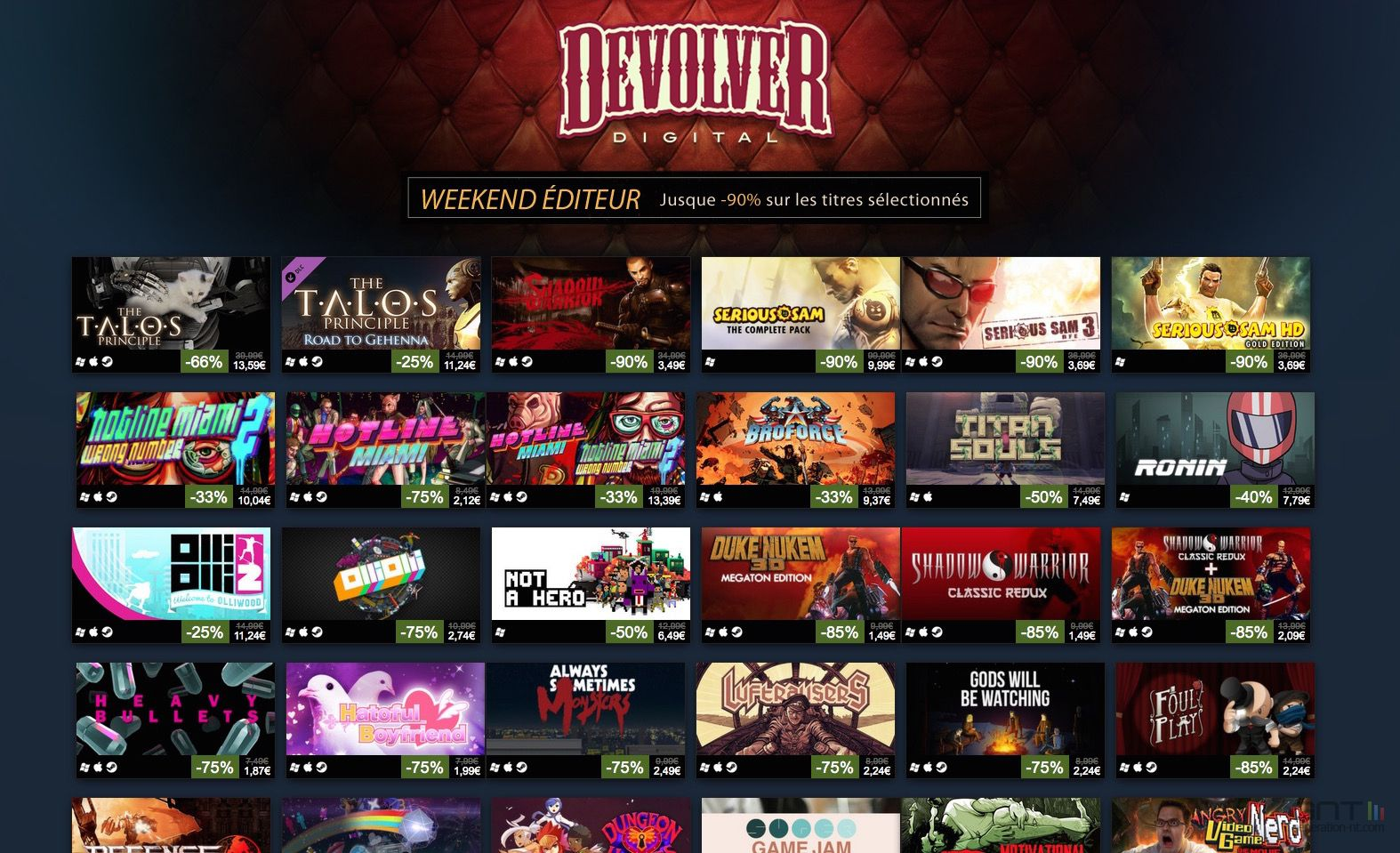 Devolver Digital Promos Steam