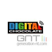 Digital chocolate logo