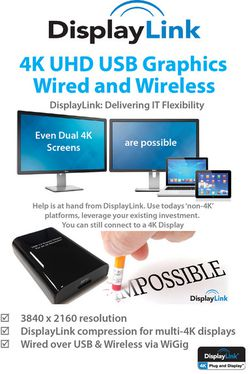 DisplayLink WiGig 4K dual