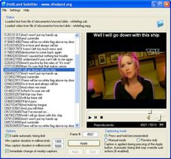 DivXLand Media Subtitler screen2