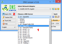 DNS Jumper screen1