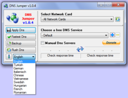 DNS Jumper screen2