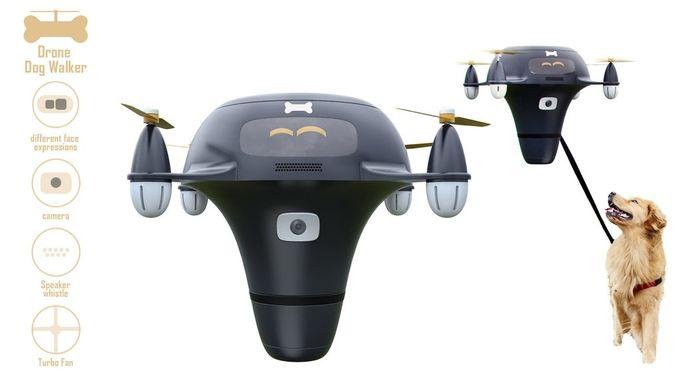 Dog-Drone-Walker
