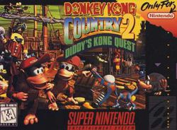Donkey Kong Country 2 : Diddy\\\'s Kong Quest - Pochette