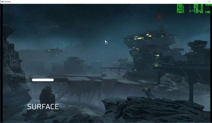 Doom - map Surface