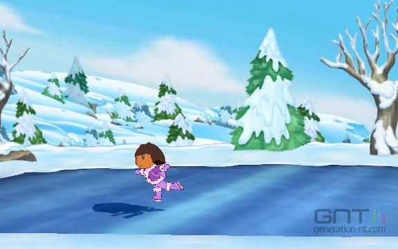 Dora sauve la princesse des neiges image 1 - Dora princesse des neiges ...