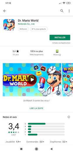 Dr Mario WOrld 1