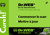 Dr.Web CureIt! : le choix d'un antivirus prêt à emporter