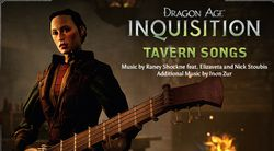 Dragon Age Inquisition - chansons taverne