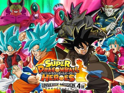 Dragon ball heroes mission