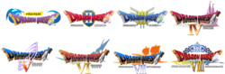 Dragon Quest mobile - logos