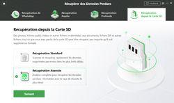 DroidKit iMobie - Récupération depuis carte SD