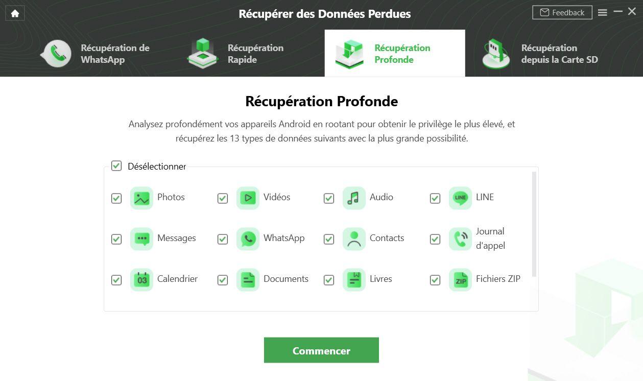 DroidKit iMobie - Récupération données supprimées