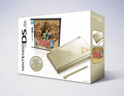 Ds lite bundle zelda phantom hourglass