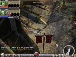 Dungeon Siege II patch screen