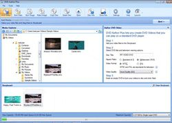 DVD Author Plus screen 1