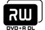 dvd graveur rw double couche dl logo