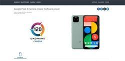 DxOMark Pixel 5