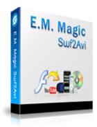 E.M. Magic Swf 2 Avi : le convertisseur d'animations flash en fichiers AVI