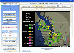 Earth Alerts screen2