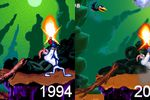 Earthworm Jim - remake - comparaison