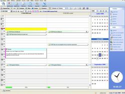 EBP Mon Agenda Perso 2011 screen