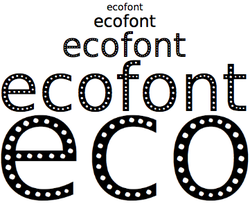 ecofont screen1
