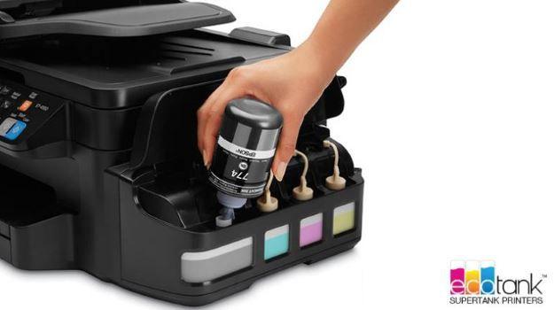 epson lance ecotank ses nouvelles imprimantes avec encre. Black Bedroom Furniture Sets. Home Design Ideas